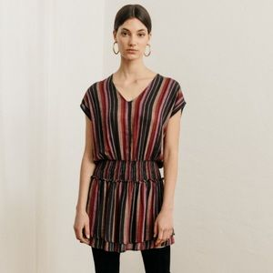 NWOT RAILS Lucca Brava Striped Linen Dress